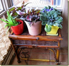 yard sale plant stand