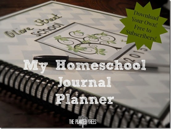 My Homeschool Journal Planner