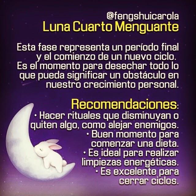 CAROLA SÁNCHEZ: Luna Cuarto Menguante