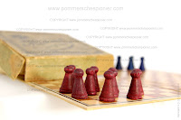 Red pawns of the German Trench Game