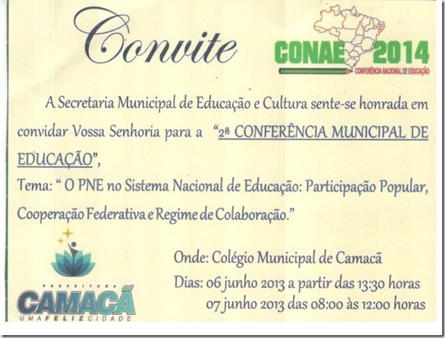 Convite conferencia