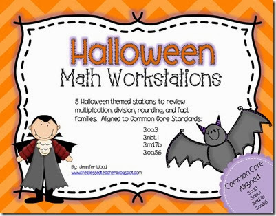 October Math Workstations