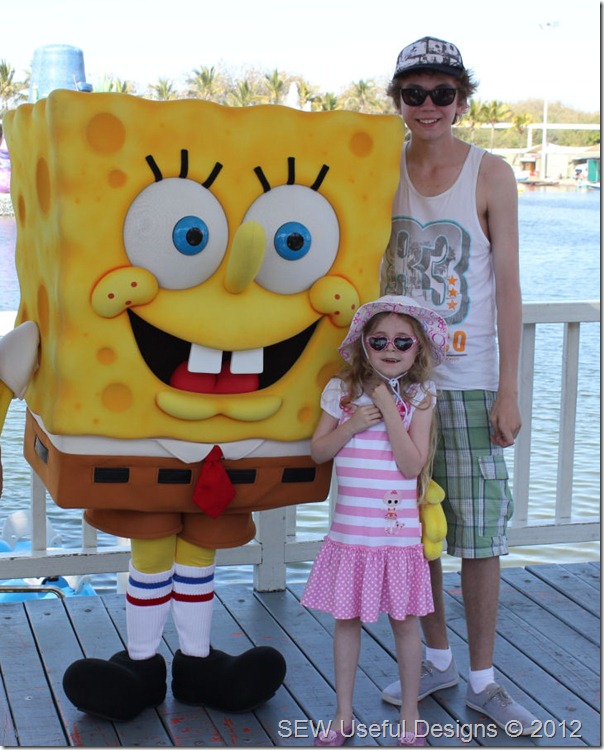 Seaworld pic with Spongebob small
