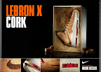 nike lebron 10 gr cork championship 6 06 Updated Nike LeBron X Cork Release Information by Footlocker