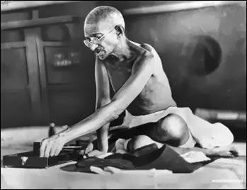Gandhi spinning_web