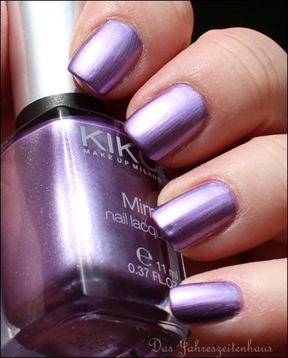 KIKO Mirror Nail Laquer 621 Violet 4