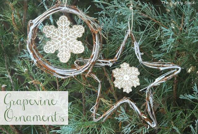 Grapevine Ornaments