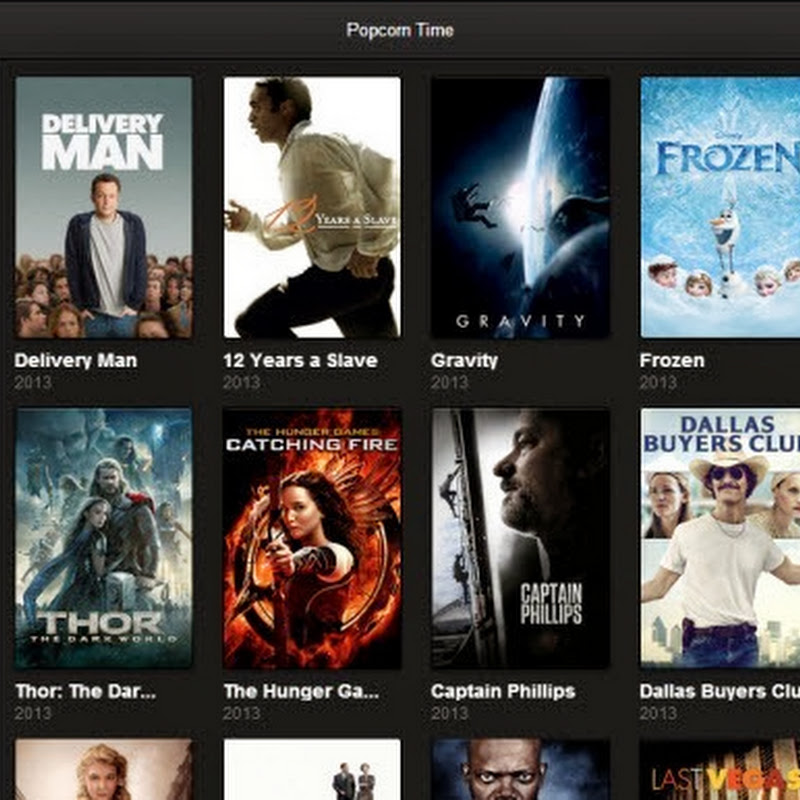 Popcorn Time is Netflix Type Movie Streaming for Pirates