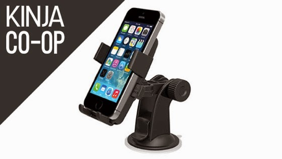 The Best Smartphone Car Mount via Kinja