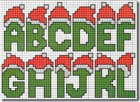 letras punto de cruz navidad (2)