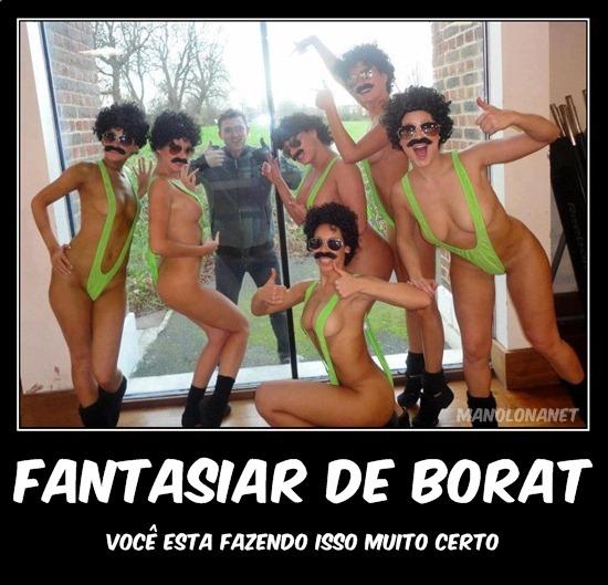 Melhor Fantasia do Mundo Borat