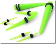 acrylic-green-ear-taper