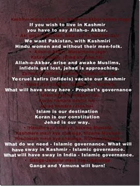jehadi poster in kashmir
