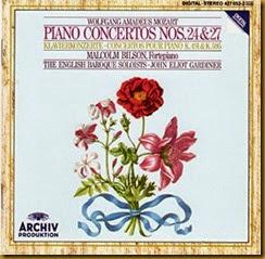 Mozart 27  Bilson Gardiner