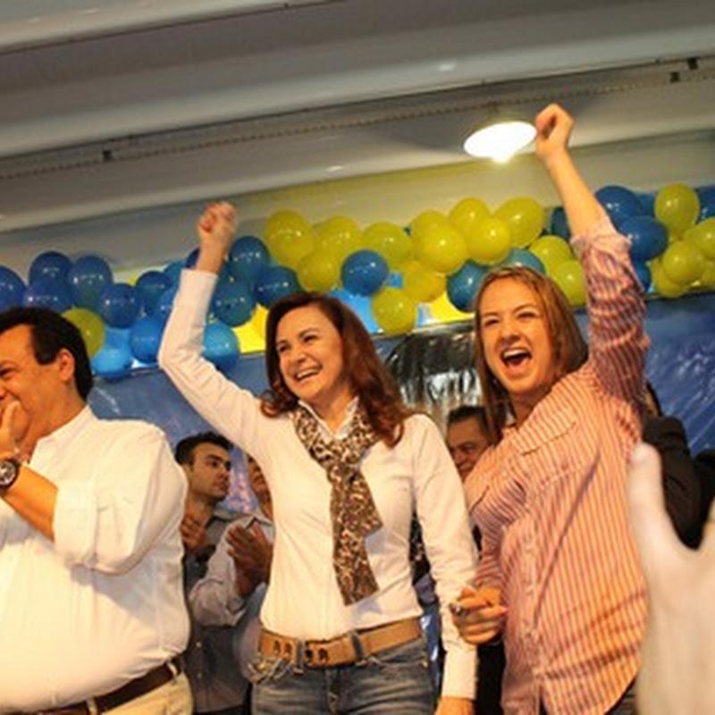Deputada federal Bruna Furlan participou das convenções dos municípios de Taboão da Serra e Cajamar