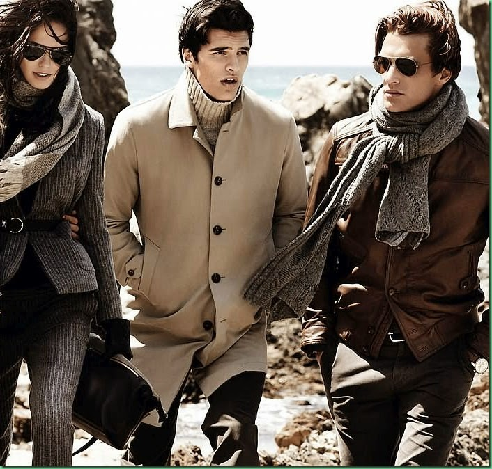 Massimo Dutti F/W 2014-15 with Shaun DeWet & Matthew Terry