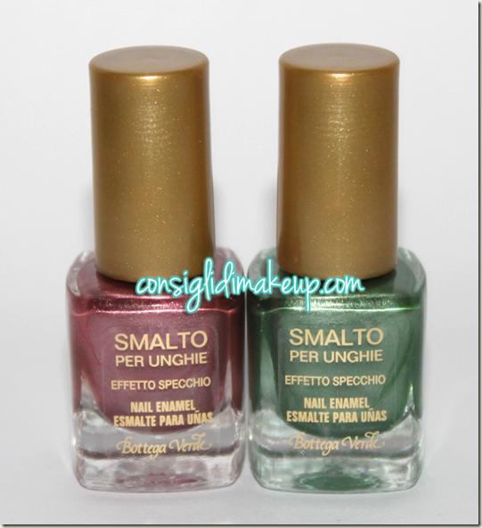 Preview le tropical rhapsody bottega verde swatches consigli di makeup beauty more - Smalto effetto specchio ...