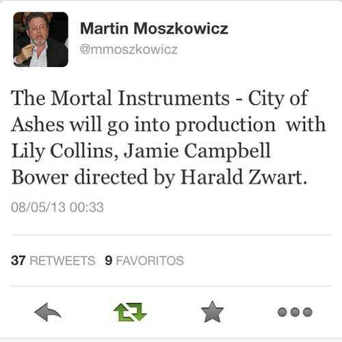 The mortal instruments city of ashes movie release date in Brisbane