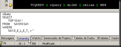 BlackTDN  :: Depuração Query String : Comandos
