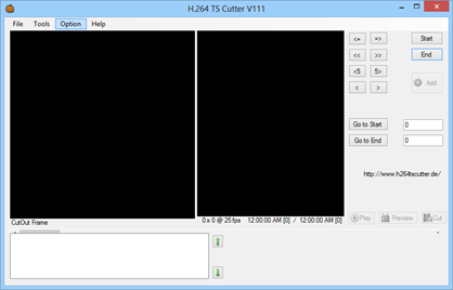 H.264 TS Cutter for HDTV Streams