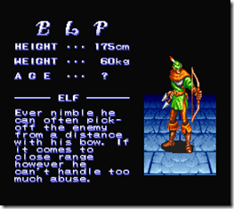 King of Dragons, elf-elfo-snes-habilidade