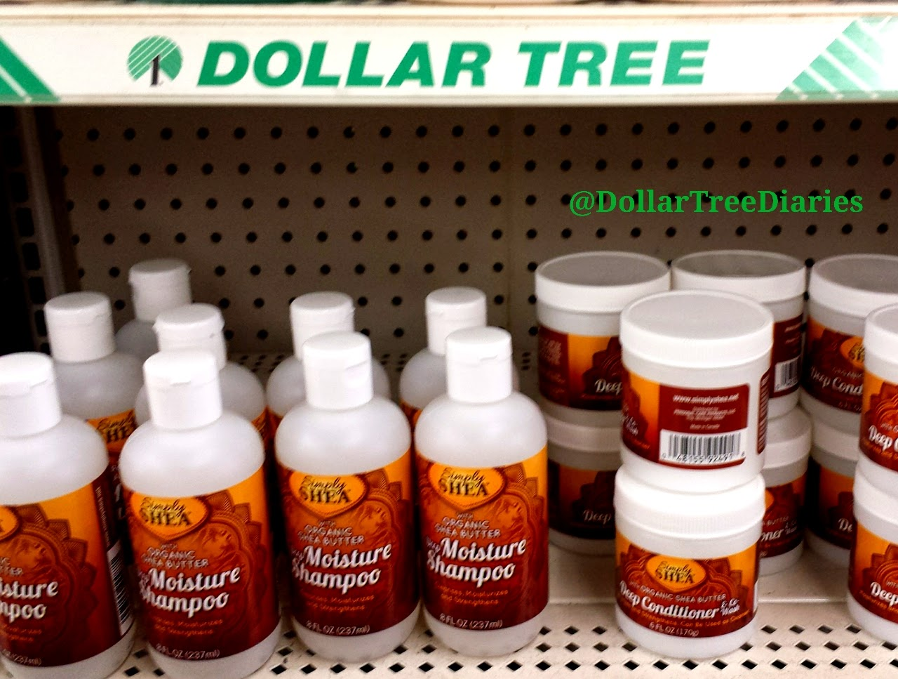 Dollar Tree Diaries Simply Shea Hair Products