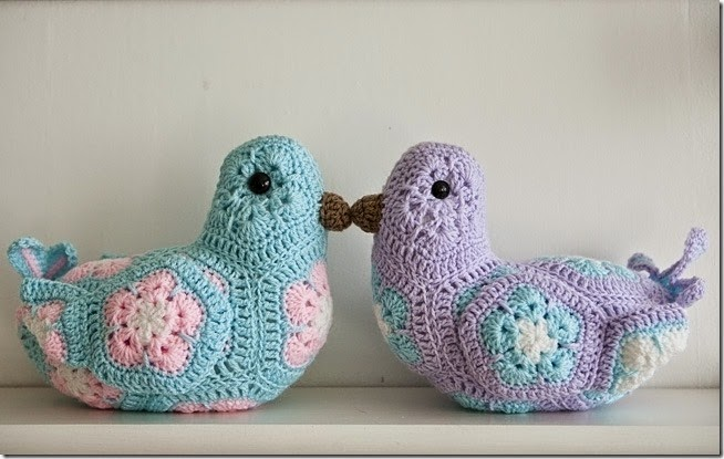 Crocheted Birdies10