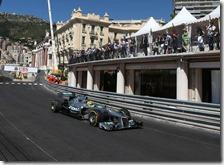 Rosberg ha conquistato la pole del gran premio di Monaco 2013
