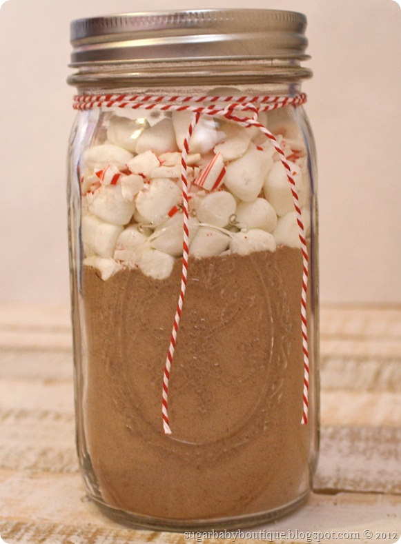 hot cocoa jar