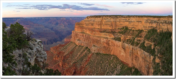 120725_GrandCanyon_MohavePoint_Sunset_Pano2