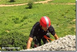 Capacete na escalada