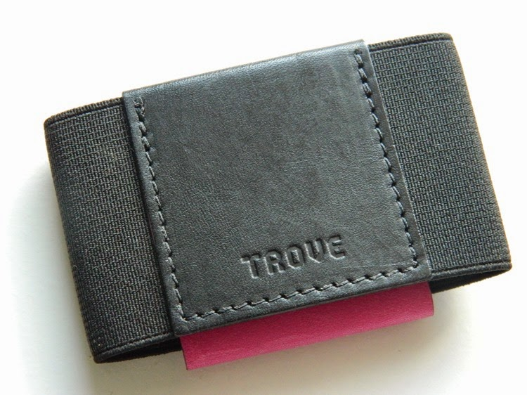 TROVE - Slim Wallet Card Case Accessories Small Leather Goods Made in England