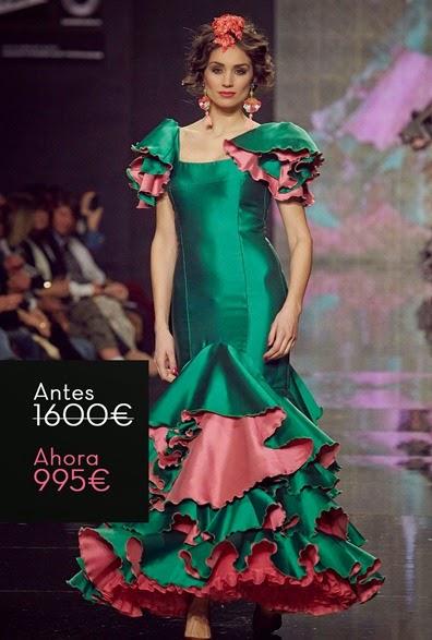 traje-flamenca-barato-verde-rosa1