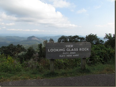 Looking Glass Rock Blue Ridge Parkway