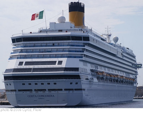 'Costa Concordia in Rhodes 1' photo (c) 2009, Cyr0z - license: http://creativecommons.org/licenses/by/2.0/