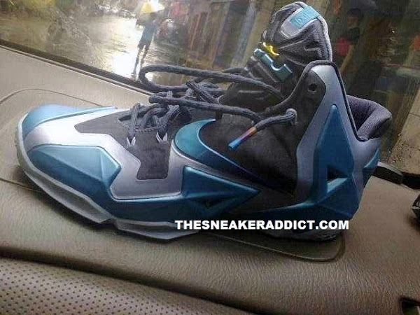 First Look at Nike LeBron XI Armory Slate  Gamma Blue