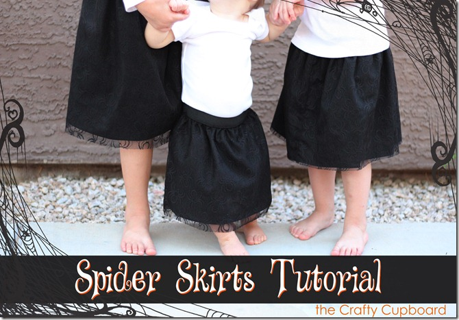Spider Skirt Tutorial