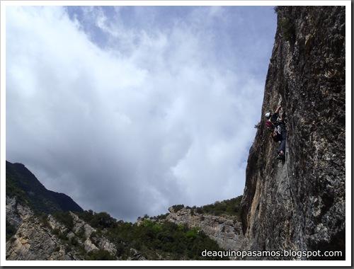 Via Gali-Molero 500m 6b  Ae (V  A1 Oblig) (Roca Regina, Terradets) (Victor) 0041