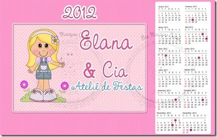 Calendário Elana