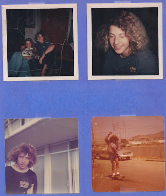 A variety of Pictures of young Tony Alva