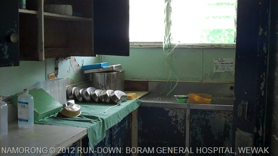 TOTALLY RUN DOWN: BORAM GENERAL HOSPITAL, WEWAK, EAST SEPIK PROVINCE