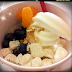 NY: Red mango frozen yogurt