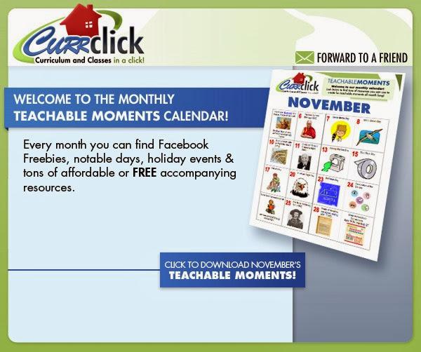 Win a gift certificate to Currclick.com via www.RaisingLifelongLearners.com - ends November 7th.