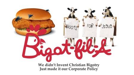 Chick fil a bigots 2012