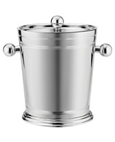 Sleek and refined, this ice bucket is perfect for bartending both outdoors and indoors.  (Martha Stewart for macys.com)