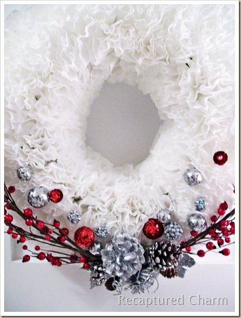 Coffee Filter Christmas Wreath2 005a