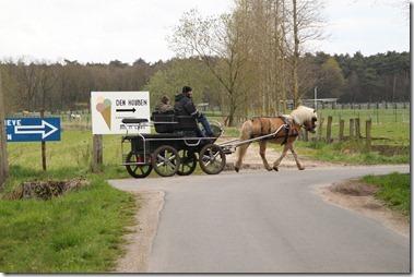 1馬力の馬車