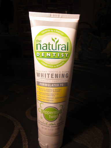 The Natural Dentist was Terri's favorite for its efficient packaging, creamy texture, and pleasantly spicy mint taste.  ($6.19 for 5 oz)