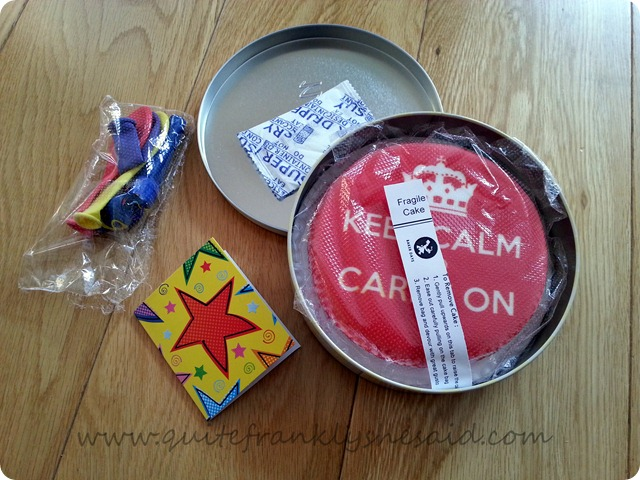Baker Days Cake Letterbox