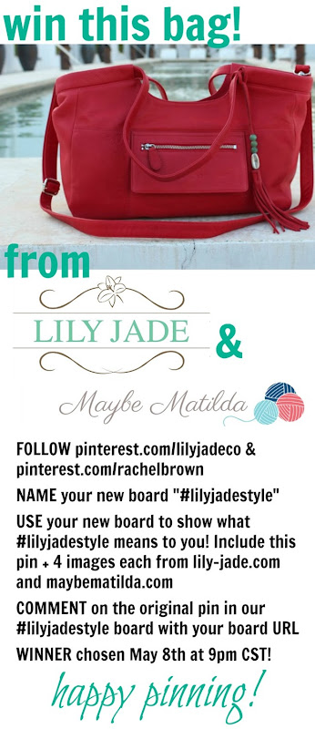 WIN a Lily Jade Designer Diaper Bag!!!